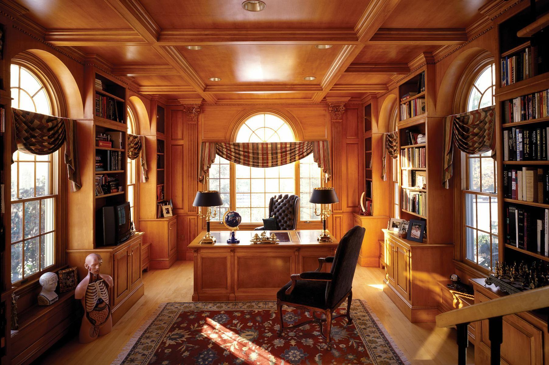 Handmade Custom Library In Maple by Odhner & Odhner Fine ...