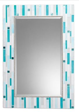 Custom Made Mosaic Bathroom Mirror - Signature Collection