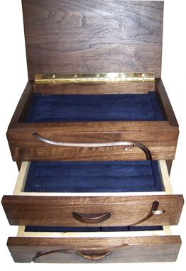 Custom Made Cuff Link Valet Case