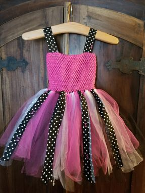 Custom Made Little Girls Tulle Dress