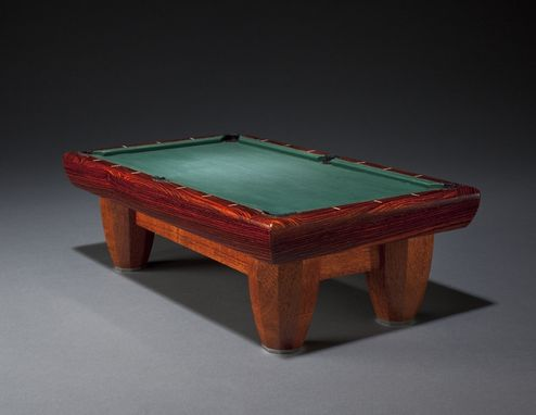 Custom Made Deca Pool Table
