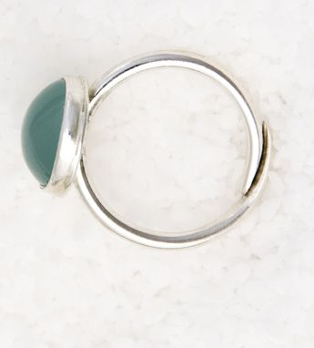 Custom Made Aquamarine Ring