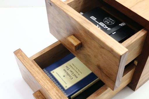 Custom Made Woodwarmth Desk Drawer: Office & Desktop Organizer