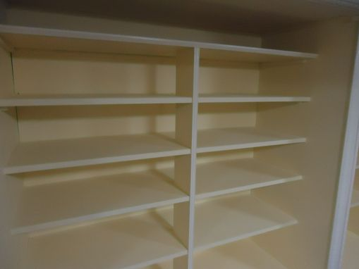 Custom Made Custom Built-In Cabinets And Shelves