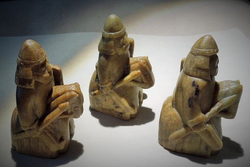 Custom Made Lewis Chess Men, Chess Pieces, Medieval Chess