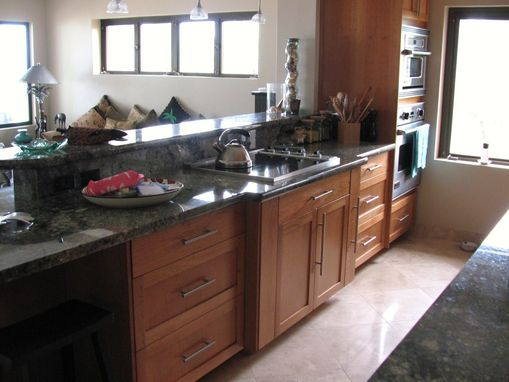 Custom Made Shaker Cherry Kitchen