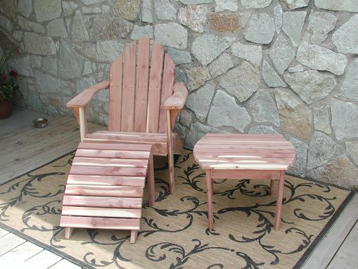 Custom Made Complete Adirondack Outdoor Set