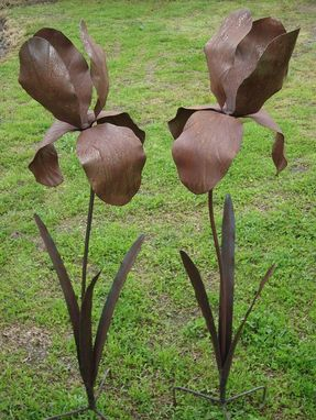 Custom Made Garden Flower Sculptures