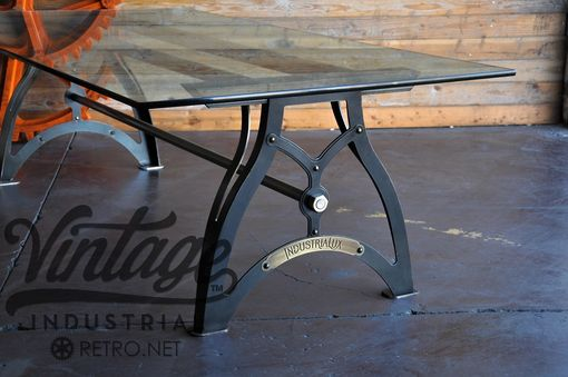 Custom Made Industrialux Dining Table