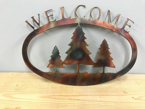 Custom Made Custom Welcome Signs