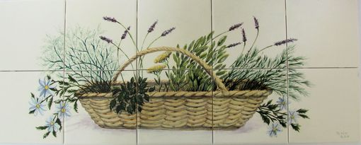 Custom Made Herb Basket