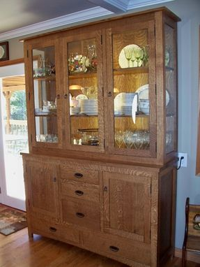 Handmade China Cabinet By Oak Tree Cabinetry Custommade Com