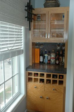 Custom Made Built In Bar