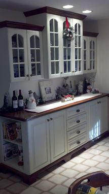 Custom Made Built-In Cabinet