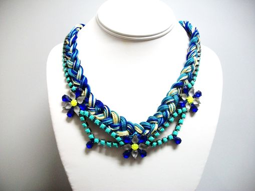"Custom Made Braided Necklace ""Lillian''"