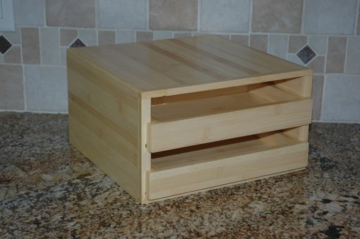 Custom Made 2-Drawer Spice Rack