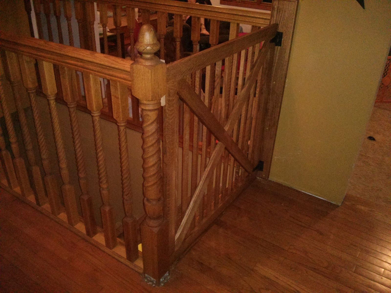 Handmade Custom Baby And Pet Gate By The Traditional