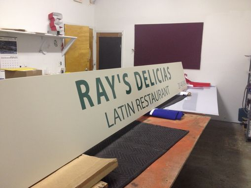 Custom Made Aluminum Flat Signage