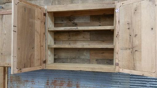Custom Made Reclaimed Rustic Kitchen Cabinets, Made To Order