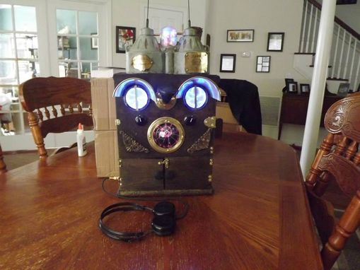 Custom Made Steampunk Airship Communication Device
