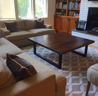 Custom Made Contemporary Modern Coffee Table