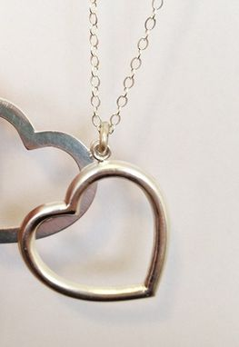 Custom Made Double Heart Necklace