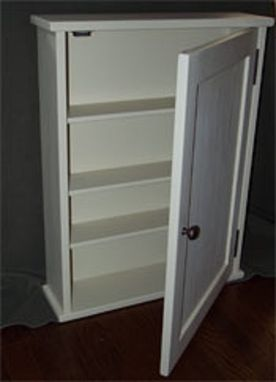 Custom Made Painted Surface Mounted Medicine Cabinet