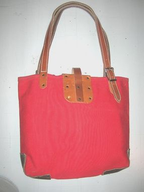 Custom Made Equestrian Tote Bag Medium