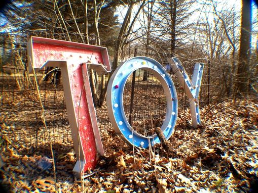 Custom Made Movie Theater Toy Large Movie Theater Marquee Letter Vintage 3 Feet 25 Bulbs Max