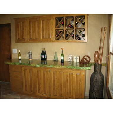 Custom Made Built-In Bar
