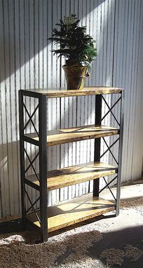 Custom Made Industrial Bookcases