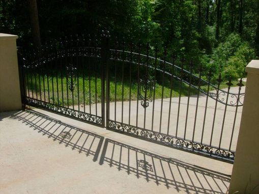 Custom Made Morning Glory Gate