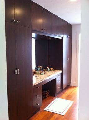 Custom Made Built-In Wardrobe With Make Up Desk