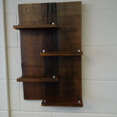 Custom Made Reclaimed Wood Wine Rack