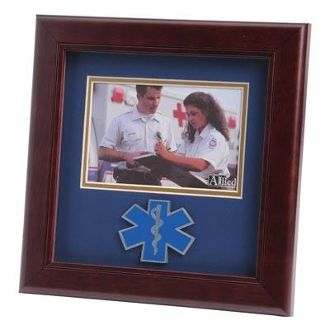 Custom Made Ems Medallion Landscape Picture Frame Is Designed To Hold A 4x6