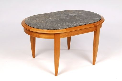 Custom Made Orthoceras Plate Table
