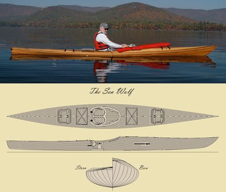 Custom Made 'The Sea Wolf' Kayak Kit