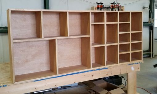 Custom Made Custom Cubbie Storage Unit