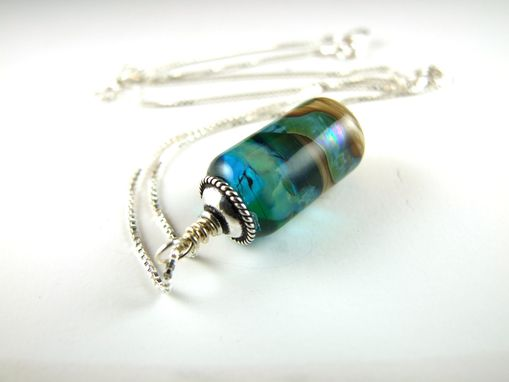 Custom Made Small Pendant - Warm Waters Collection