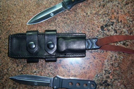 Custom Made Knife Sheaths Of Any Kind And Leather