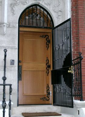 Custom Made Custom Entry Doors