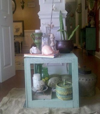 Custom Made Shabby Chic, Cottage Style Box Table