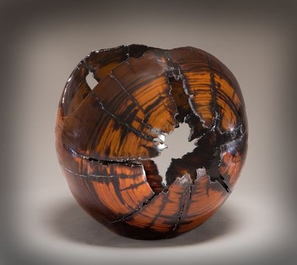 Custom Made Chainsaw Carved Wood Sculptures And Vessels