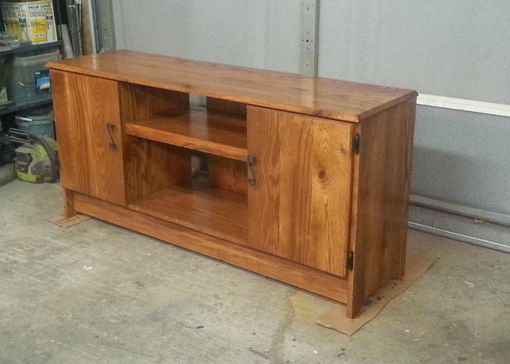 Custom Made Reclaimed Barnwood Entertainment Center