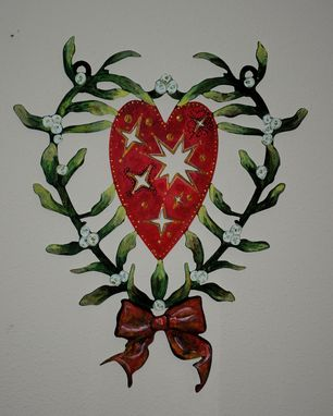 Custom Made Christmas Custom Wall Art By Covington Iron Works