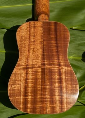 Custom Made Koa Soprano Ukulele