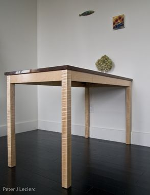 Custom Made Parsons-Style Dining Table