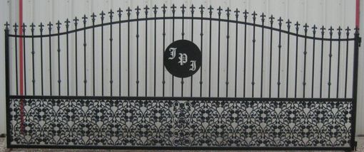 Custom Made Custom Accent Pieces On Gates