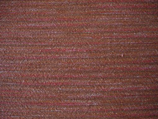 Custom Made Falling Leaves Hand Woven Fabric