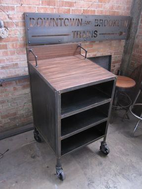 Custom Made Smith Commons Hostess Stand/Restaurant Poscart